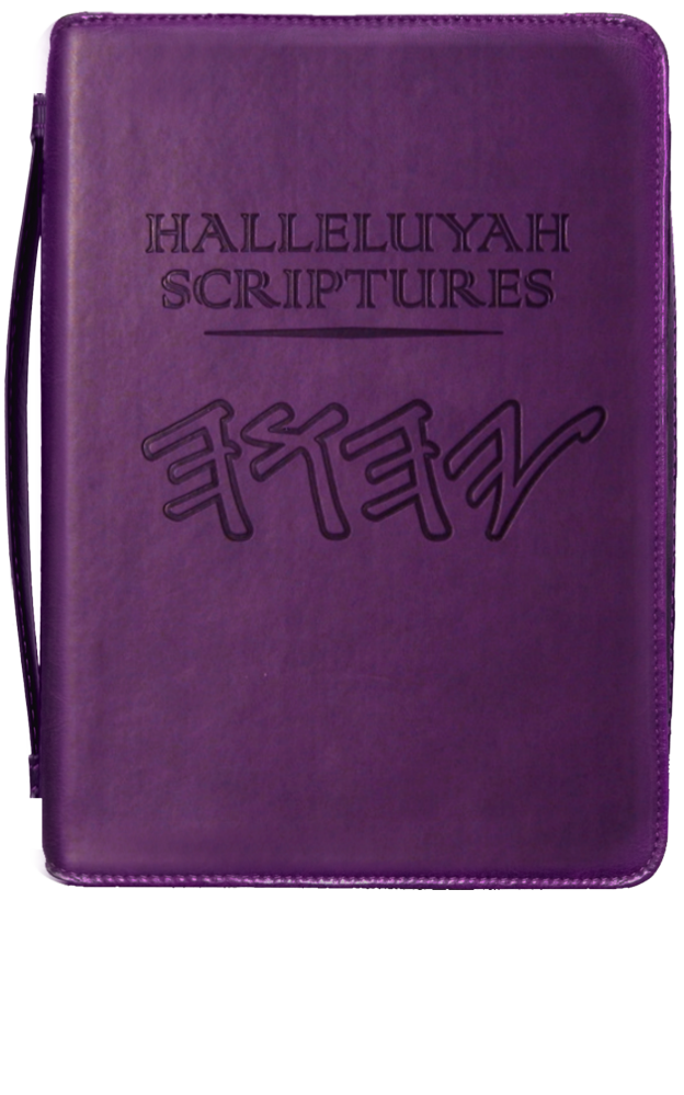 HalleluYah Scriptures Cover - Case