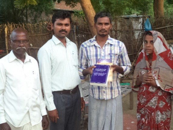 HalleluYah Scriptures Bro. Ratnapaul sharing in Indian village