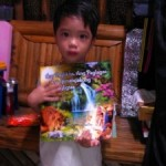 Youth & Children in the Philippines Grateful for Children's Book and other Materials in Filipino language