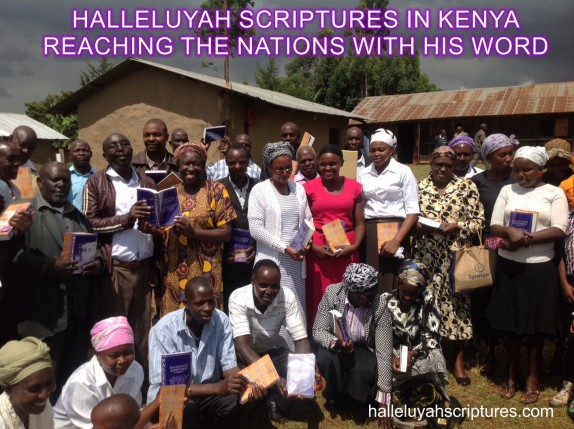 HalleluYah Scriptures Parallel + Hebrew Bible + Restored Name Bible + The Best Bible + The Scriptures & Cepher Yahweh & Yahwah + Kenya 2ca